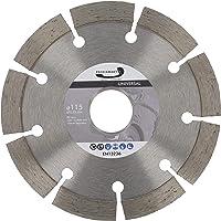 PRODIAMANT Diamantdoorslijpschijf 115 x 22,2 mm 10 mm professioneel segment beton, steen, baksteen, universeel 115 mm