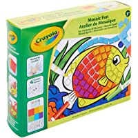 CRAYOLA A1901653 Mosaic Fun Art Set, Colour and Stick, Create Mosaic Art, Creative and Washable Art Play for Children…