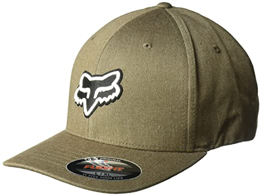 uk availability 3c8e4 c5045 Fox Men s Transfer Flexfit Hat, Bark, ...