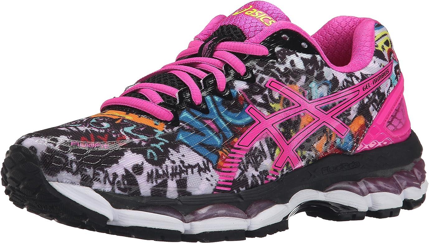 Asicsgel-Nimbus 17 NYC-W - Gel-Nimbus 17 NYC-w para Mujer, Dorado (Dorado/Oro), 7 D(M) US: Amazon.es: Zapatos y complementos