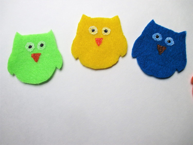 Felt Owl Color Sorting