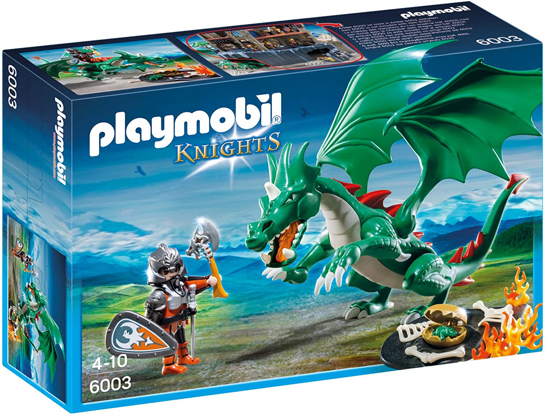 PLAYMOBIL Caballeros - Playset Gran dragón (6003): Playmobil: Amazon.es: Juguetes y juegos