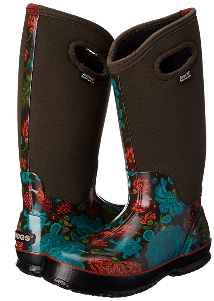best gardening shoes - Bogs Women's Classic Winter Blooms Boots
