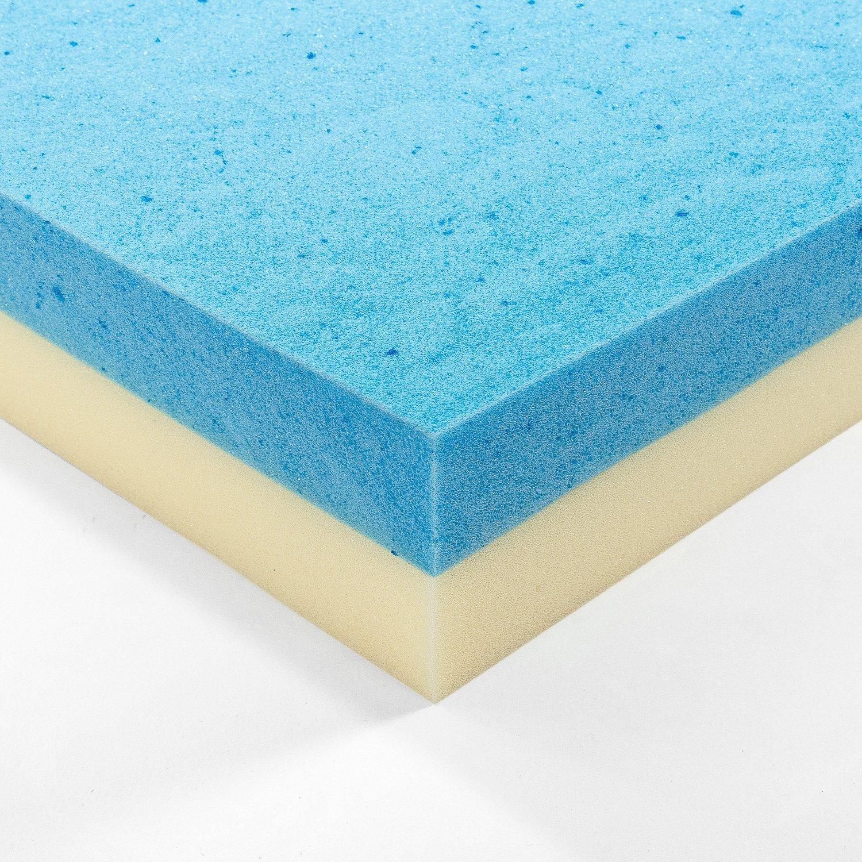 Canadas Best Mattress Gel Memory Foam 4 Inch Mattress Topper Twin