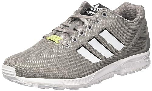 e812bbcc329 adidas Originals Men s Zx Flux Chsogr Ftwwht Iceyel Sneakers - 10 UK India