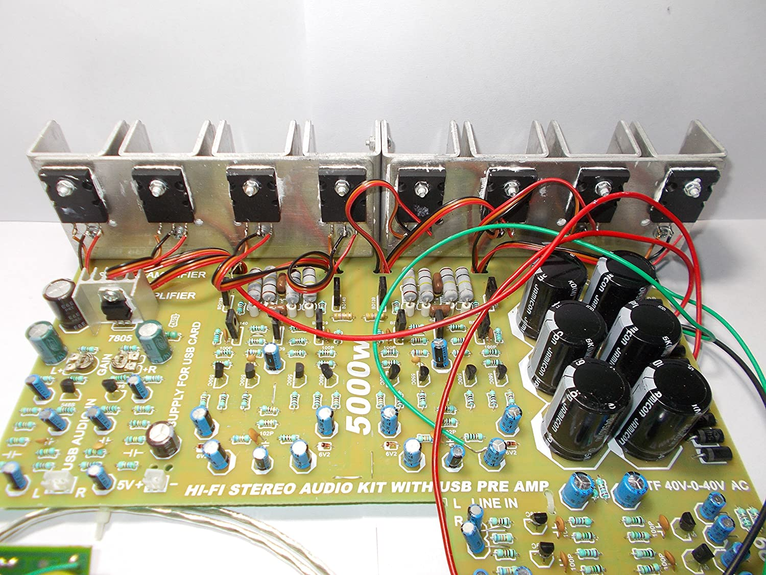 Soumik Electricals 5000 Watt Power Ampifier Board With 3000w Stereo Amplifier Circuit Electronics