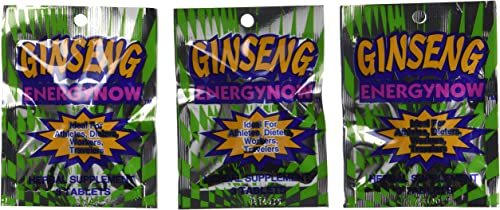Handy Solutions Ginseng Energy Now, 3 tab Packages Pack of 24