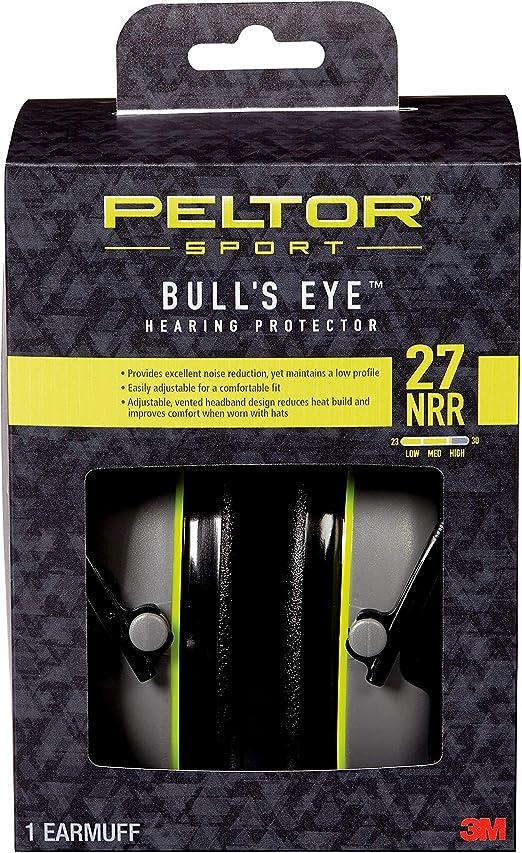 3m Peltor Bull/'s Eye II Ear Protection 31 DB Folding h520f-440-rd polygon