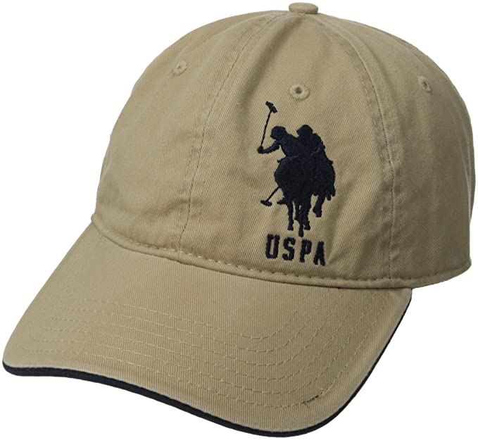 d22b7743548 U.S. Polo Assn. Men s Solid Horse Adjustable Hat