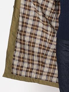 Balmacaan Coat 114-15-0297: Khaki