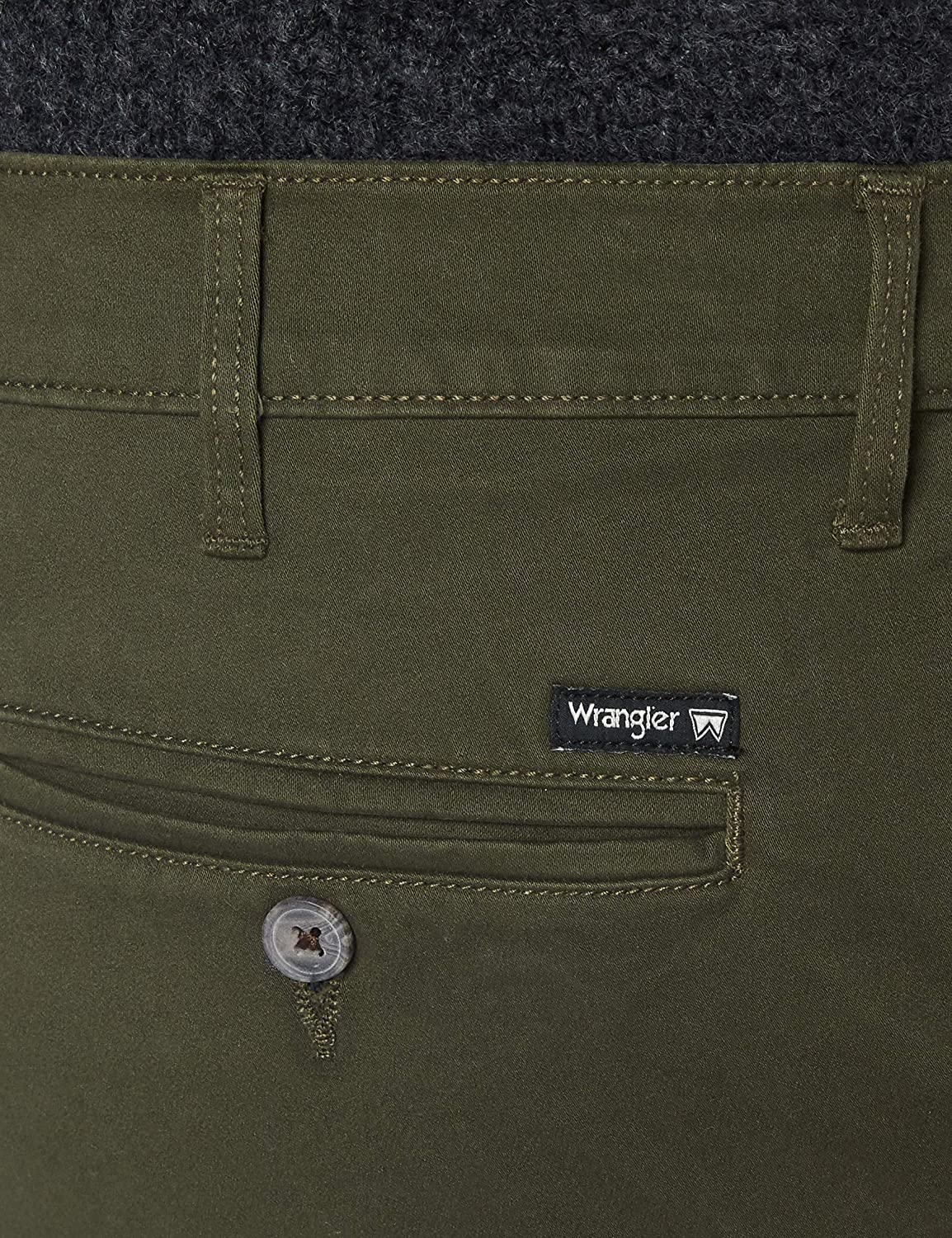 Wrangler Men's Chino' Trouser Green (Ivy Green)