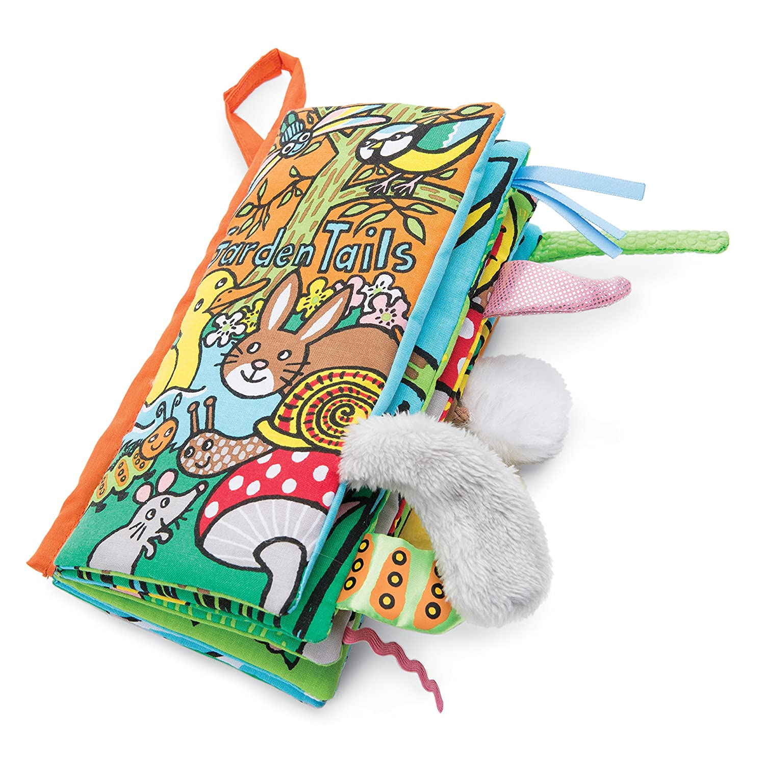 Puppy Tails Jellycat Soft Cloth Books