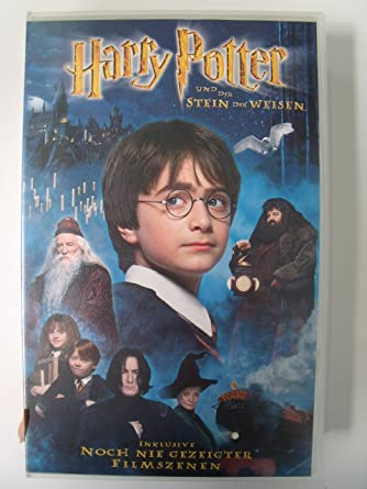 Harry Potter Und Der Stein Der Weisen Verleihversion Vhs Radcliffe Daniel Grint Rupert Columbus Chris Radcliffe Daniel Grint Rupert Amazon De Vhs