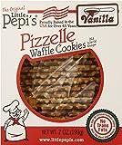 Little Pepi's Pizzelles, Vanilla, 7 Ounce