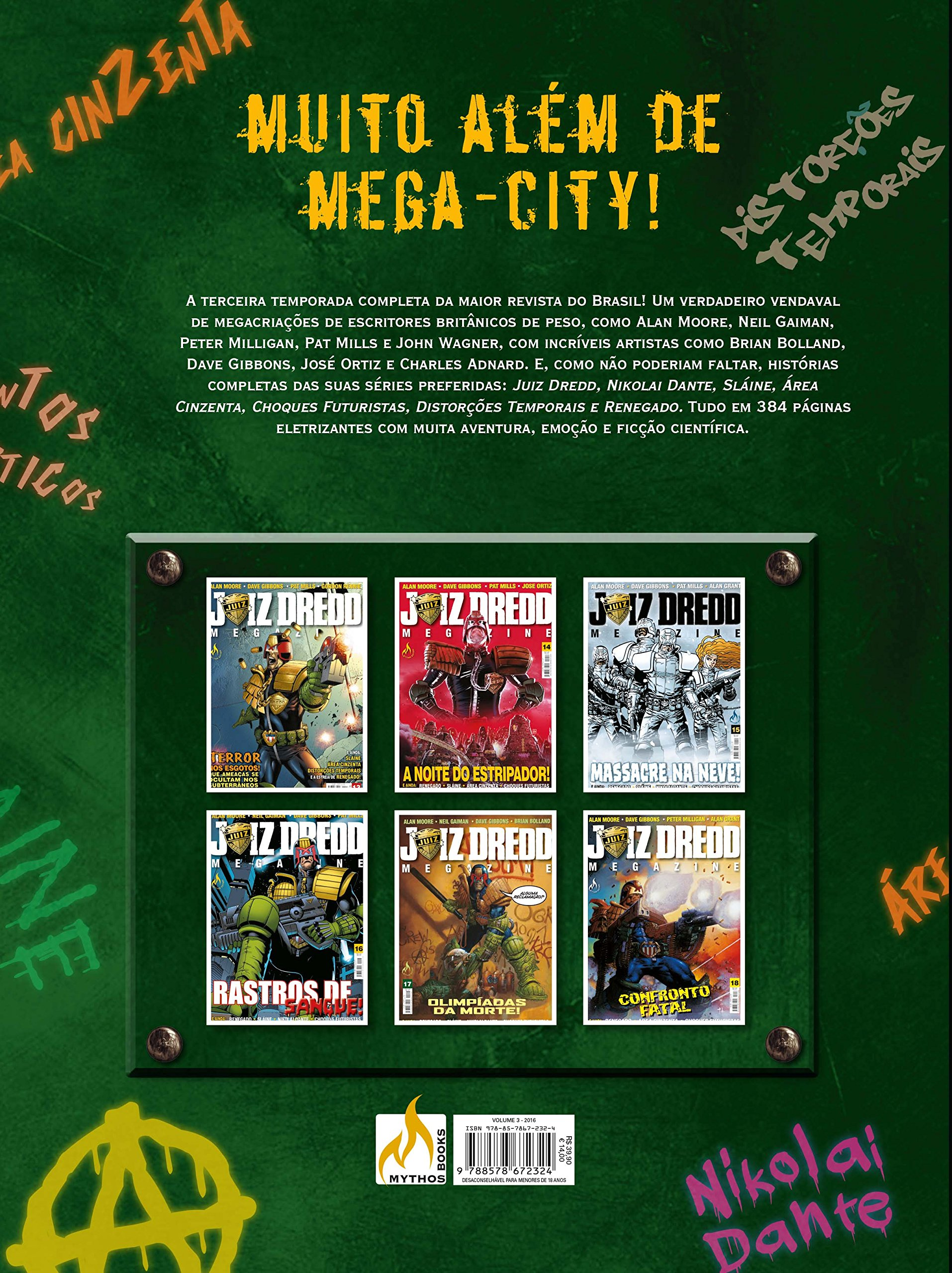 Amazon.com: Juiz Dredd Mega-Almanaque - Volume 3 (Em ...