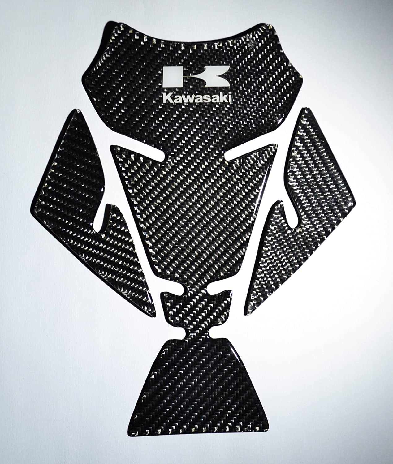 RZ Moto Fit Kawasaki ZX6R ZX10R ZX14R ZZR ZZR400 ZXR Versys Concours Real Carbon Fiber Motorcycle Tank Protector Pad trim sticker Rezorg MotoDesign