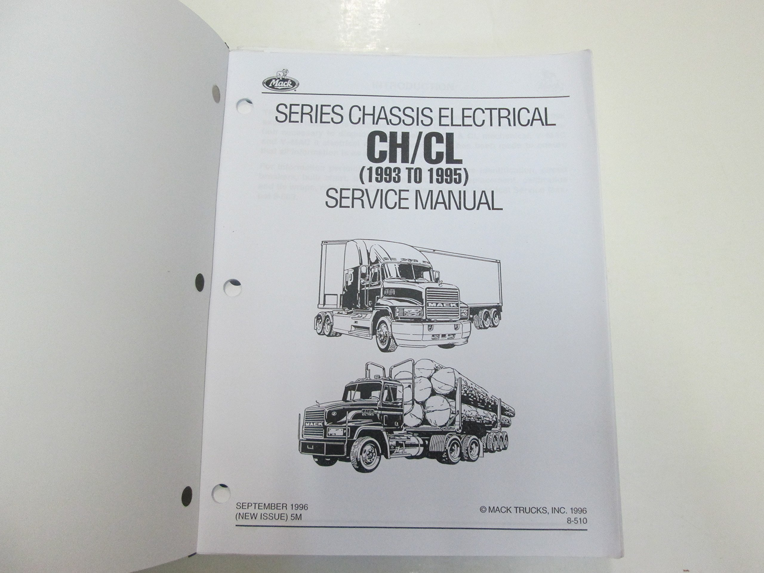 1993 to 1995 Mack Trucks CH CL Series Chis Electrical Service ... Mack Wiring Diagram For on mack transmission diagram, mack fuel system diagram, mack parts diagram, mack rear end diagram, mack relay diagram, mack hvac diagram, mack pump diagram, mack steering diagram, mack engine diagram, mack suspension, mack fuse diagram, mack motor diagram,