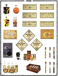 graphic relating to Harry Potter Apothecary Labels Free Printable named : 12 Harry Potter Basic Apothecary Encouraged
