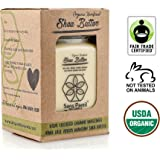 Organic Shea Butter: Highest Quality Unrefined Rare Nilotica, Certified Fair-Trade - Nourishes, Replenishes and Protects Skin and Hair - 8oz