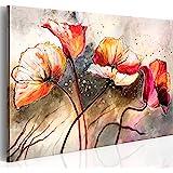 Cuadro 100x70 cm - 1 parte - Impresion en calidad fotografica - Cuadro en lienzo tejido-no tejido - flores 0107-13 100x70 cm