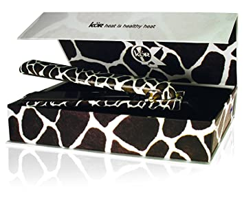KOR PROFESSIONAL SAFARI SERIES 1.25u0026quot; Solid Ceramic plates Iconic hair straightener Styler Flat Iron (  sc 1 st  Amazon.com & Amazon.com : KOR PROFESSIONAL SAFARI SERIES 1.25