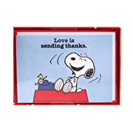 Snoopy Love is Sending Thanks notecards