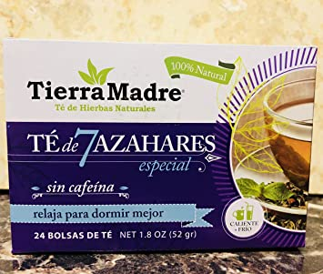 Amazon.com: TIERRA MADRE 7AZAHARES -7BLOSSOMS TEA 2 BOX ...