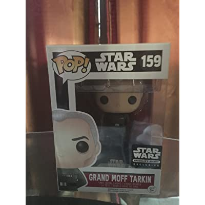 Star Wars Smugglers Bounty Exclusive Death Star Grand Moff Tarkin Funko Pop #159 by Finko Pop: Toys & Games [5Bkhe1101330]