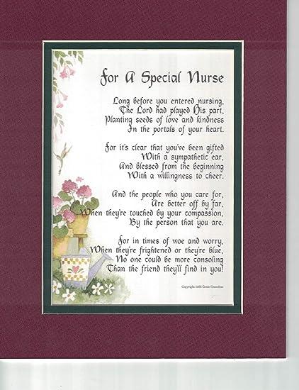 Amazon Com A Gift Present Poem For A Special Nurse 166 Graduation