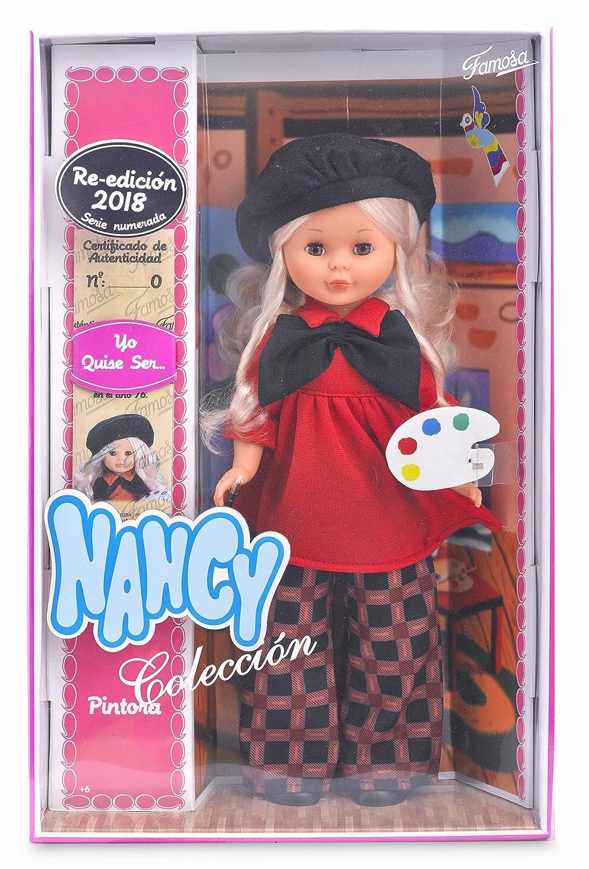 Zuecos Rojos Muñeca Nancy Reproducción,nuevos Muñecas Y Accesorios