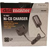 DrillMaster 68420 18 Volt NiCd Battery Charger For Cordless Tools 68413