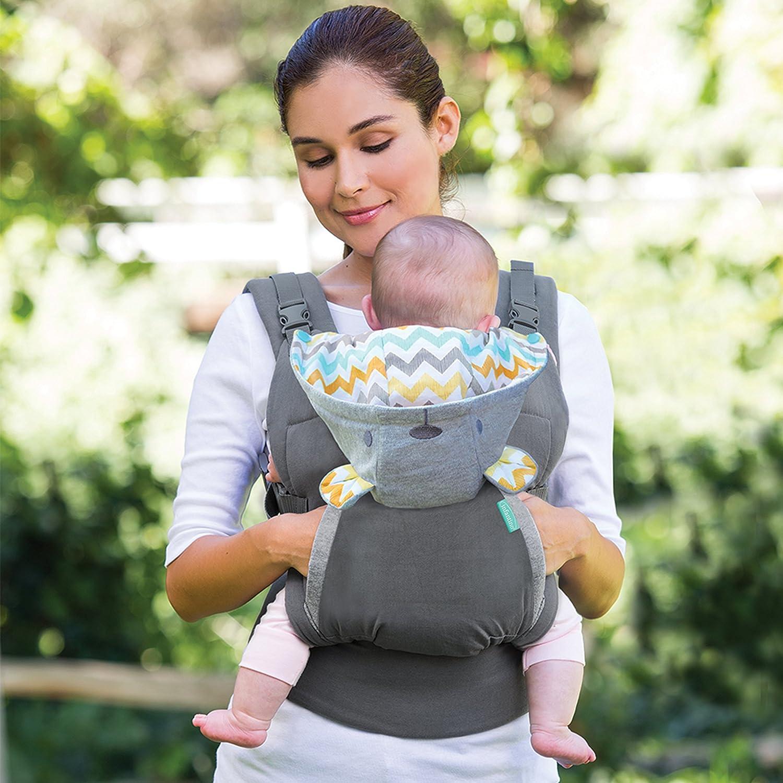Amazon Infantino Cuddle Up Ergonomic Hoo Carrier Grey Baby