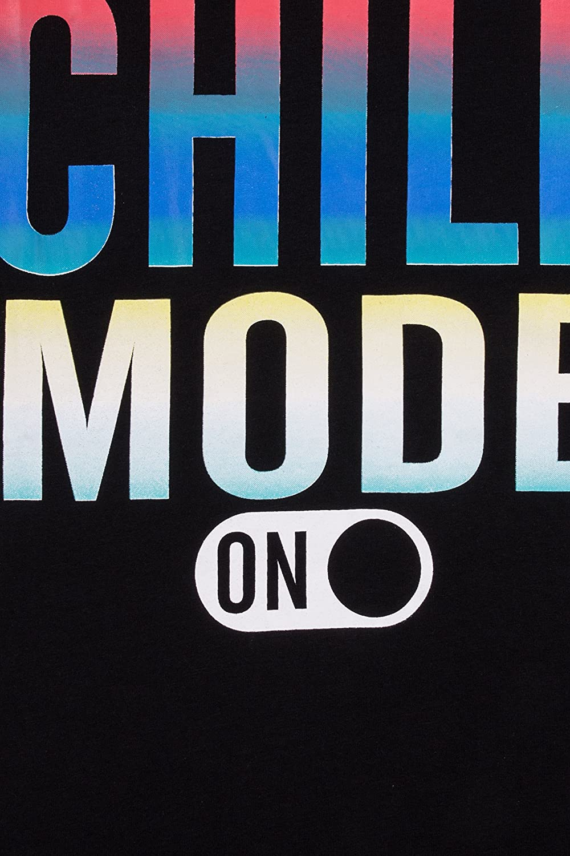 Boys Chill Mode Gaming Cotton Short Pyjamas Black