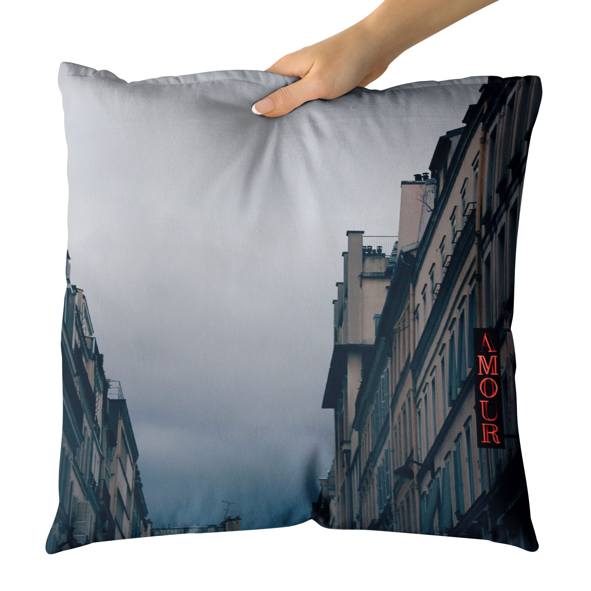 Westlake Art - Hotel France - Decorative Throw Pillow Cushion - Picture Photography Artwork Home Decor Living Room - 18x18 Inch (A039F)