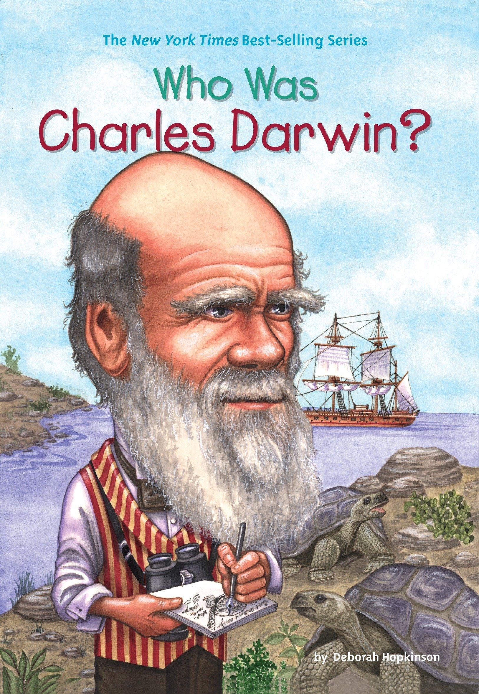 who was charles darwin deborah hopkinson who hq nancy harrison