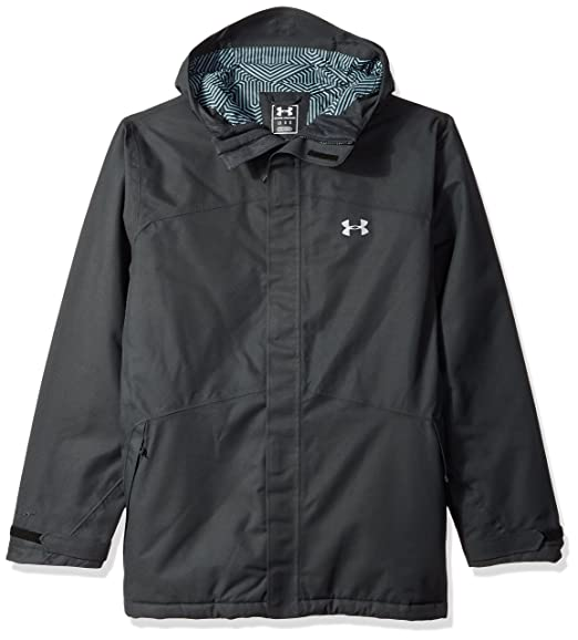 8bbd8568f Under Armour Outerwear Men's CGI Powerline Ins Jacket, Small, Black