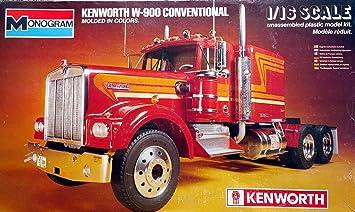 Revell Monogram 1:16 - Kenworth W-900 Conventional Truck ...