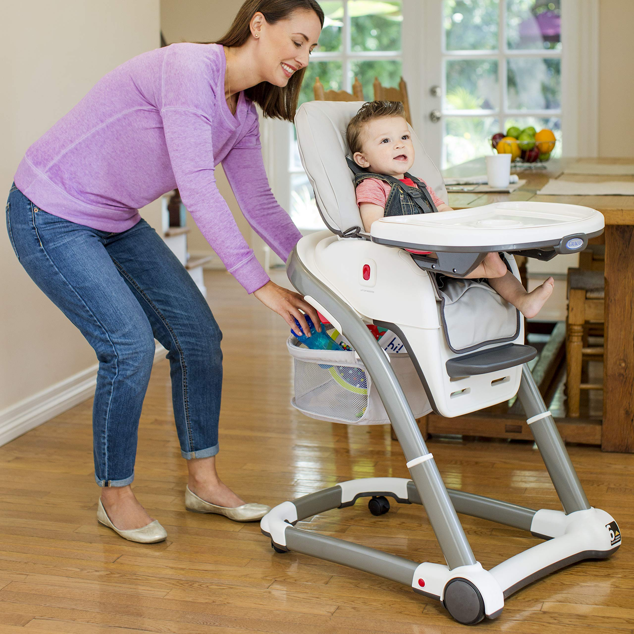 Graco Blossom 6-in-1 Convertible Highchair, Sapphire by Graco (Image #8)