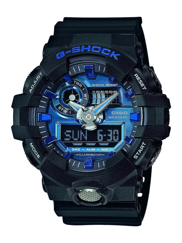 Casio Reloj Analogico-Digital para Hombre de Cuarzo con Correa en Resina GA-710-1A2ER: Amazon.es: Relojes
