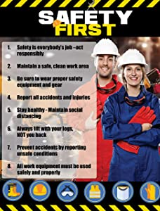 Safety Awareness Poster,