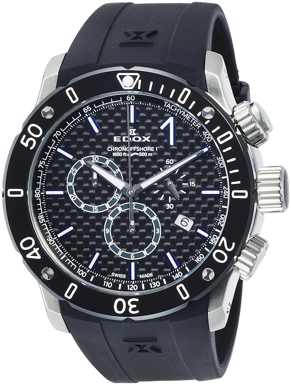 [エドックス]EDOX 腕時計 クロノオフショア1 クロノグラフ 10221-3-NIBU2 メンズ 【正規輸入品】 B01NCAQSZ6