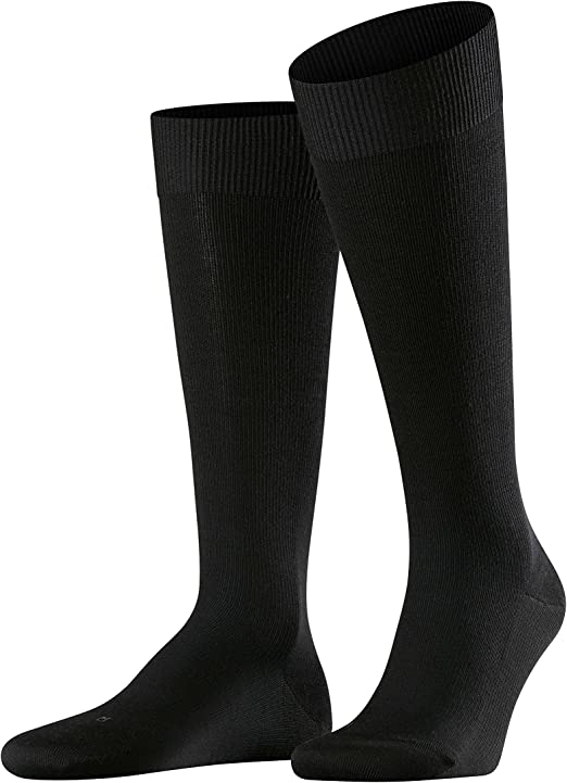 Mens 1 Pair Falke Merino Wool Energizing Knee High Socks