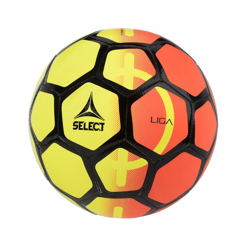 選択Ligaサッカーボール B07B83HW81 5|Yellow/Orange Yellow/Orange 5