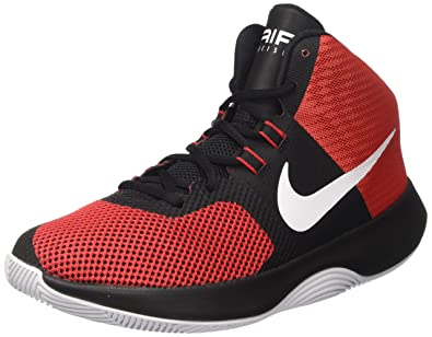 promo code f885b 326e6 Nike Men s Air Precision Basketball Shoes, Red (Red), 8 UK