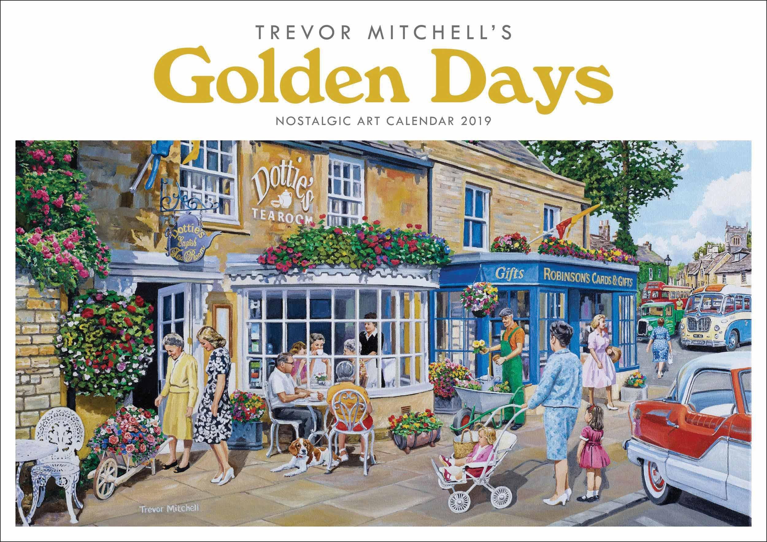 Golden Days Trevor Mitchell A4 Calendar 2020