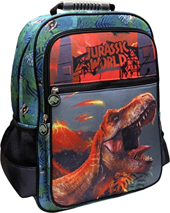 CYP BRANDS Jurassic World MC-32-JW Mochila adaptable a trolley, Verde: Amazon.es: Ropa y accesorios