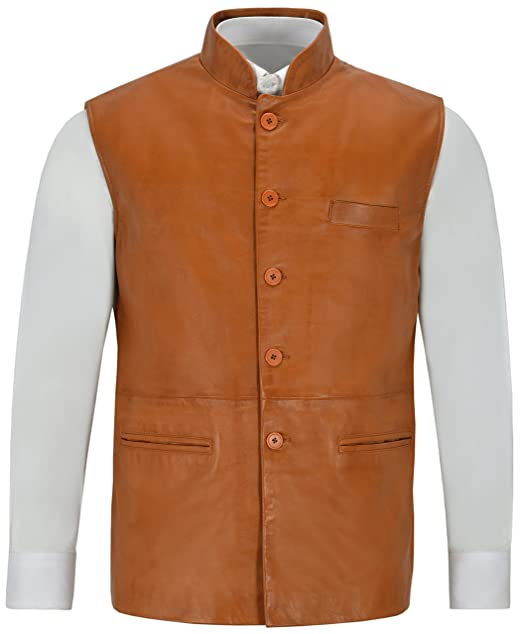 Amazon.com: Étnico indio para hombre 3946 chaleco de cuello ...