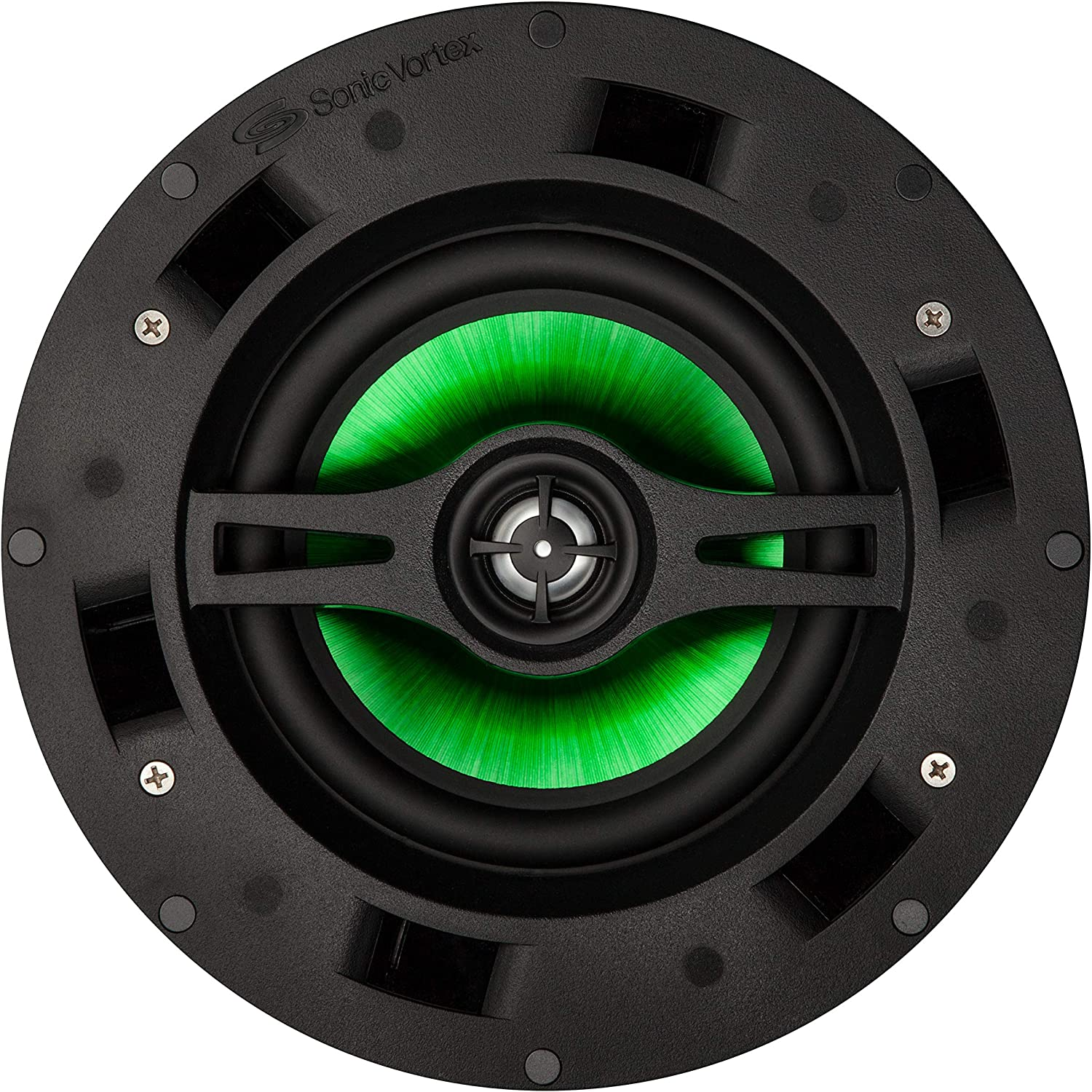 Beale Street IC6DVC-B Speakers - 6.5-Inch Dual Voice Coil Ceiling Speakers for Home Theater Systems