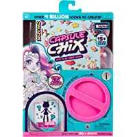 Capsule Chix Ctrl+Alt+Magic Collection, 4.5 inch Small Doll with Capsule Machine Unboxing and Mix and Match Fashions and…