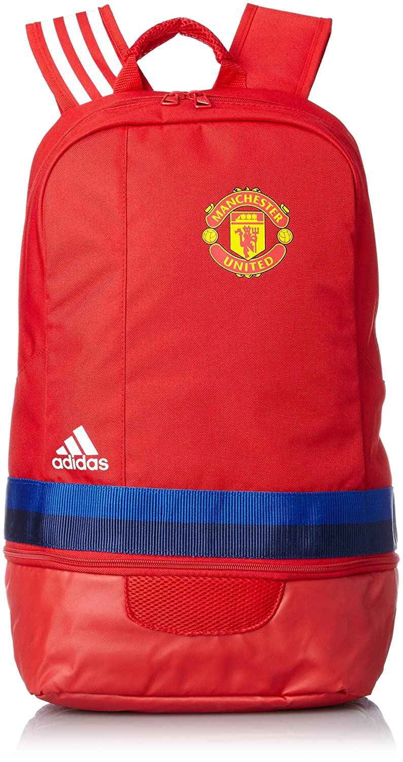 66f91f8bf6 Amazon.com  2015-2016 Man Utd Adidas Backpack (Scarlet)  Clothing